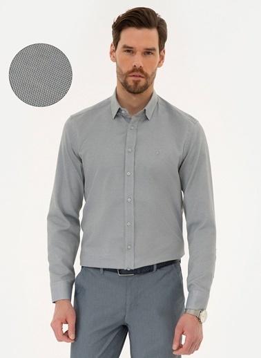 Pierre Cardin Gömlek Gri